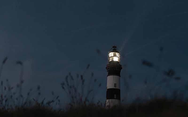 Allumage du phare du Créac'h - © Eugénie Ragot